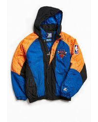 Urban Outfitters - Vintage Starter New York Knicks Full-zip Jacket - Lyst