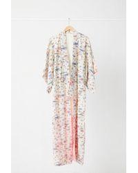 Urban Renewal - Vintage Cream Multi Motif Kimono - Lyst
