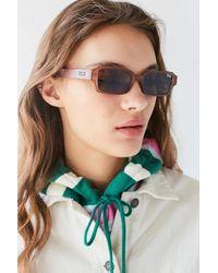Quay - Quay Strange Love Square Sunglasses - Lyst
