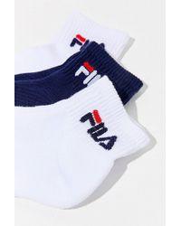 Fila - Fila Logo Heritage Crew Sock 3-pack - Lyst