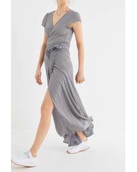 Flynn Skye - All Wrapped Up Maxi Dress - Lyst