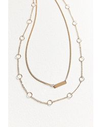 Urban Outfitters - Luxe Layering Necklace Set - Lyst
