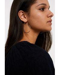 Urban Outfitters - Premium Heart Hoop Earrings - Lyst