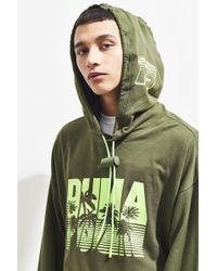 PUMA - Puma Fenty By Rihanna Full Back Zip Hoodie Sweatshirt - Lyst