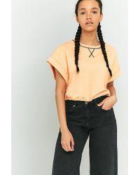 BDG - Toggle Hem Cropped T-shirt - Lyst