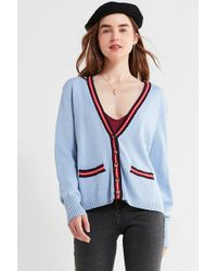Urban Outfitters - Uo Sloane Striped V-neck Cardigan - Lyst
