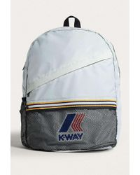 K-Way - Grey Packable Backpack - Womens All - Lyst