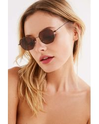Urban Outfitters - Groovy Geometric Sunglasses - Lyst