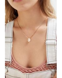 Urban Outfitters Simple Cowrie Shell Pendant Necklace - Multicolour