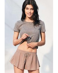 Out From Under | Fiona Flutter Shorts | Lyst