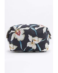Mi-Pac - Navy Orchid Make-up Bag - Lyst