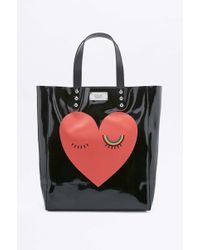 Sonia by Sonia Rykiel - Black Heart Tote Bag - Lyst
