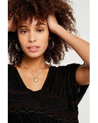 Urban Outfitters - Premium Heart Locket Necklace - Lyst