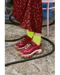 Caterpillar - Intruder Biking Red Trainers - Womens Uk 3 - Lyst
