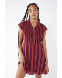 Urban Outfitters - Uo Nancy Short Sleeve Shirt Dress - Lyst