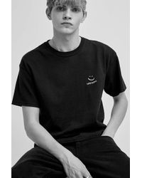 aa5325c8085 Urban Outfitters Wiz Khalifa Boxy Black Tee in Black for Men - Lyst