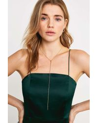 Urban Outfitters - Gold Chain Lariat Necklace - Womens All - Lyst