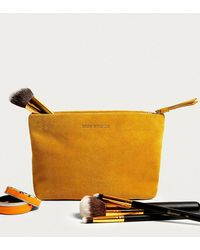 Urban Outfitters - Uo Suede Make-up Bag - Lyst