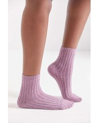 Out From Under - Ribbed Chenille Sock - Lyst