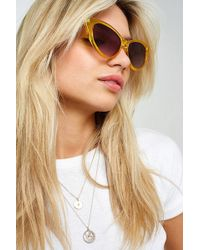 Urban Outfitters - Colourful Cat Eye Sunglasses - Lyst