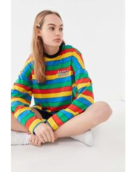 e4718947ec6 Hot The Ragged Priest - Rainbow Striped Long Sleeve Tee - Lyst