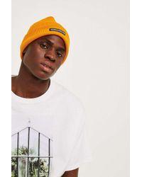1dcd15939 Urban Outfitters Dark Green Corduroy Cap in Green for Men - Lyst
