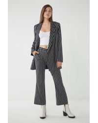 Just Female - Laurent Pinstripe Trouser Pant - Lyst