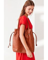 Urban Outfitters - Drawstring Tote Bag - Lyst