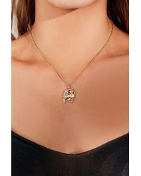 Urban Outfitters - Unicorn Charm Necklace - Lyst