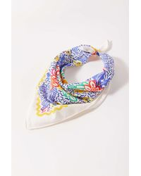 Urban Outfitters Uo Flecked Mini Silk Scarf