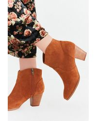 Urban Outfitters - Parker Suede Ankle Boot - Lyst