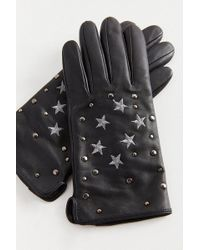 Urban Outfitters - Star Embellished Leather Glove - Lyst
