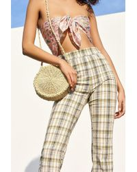 Urban Outfitters - Small Circle Straw Round Crossbody Bag - Lyst