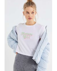 Truly Madly Deeply - Nature Girl Cropped Tee - Lyst