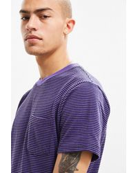 Urban Outfitters | Uo Standard-fit Feeder Stripe Tee | Lyst