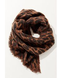 Urban Outfitters - Cozy Intarsia Blanket Scarf - Lyst