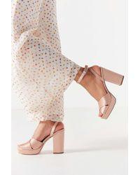 Urban Outfitters - Viv Cross-strap Platform Heel - Lyst