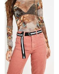 Urban Outfitters - Uo Reflective D-ring Belt - Womens All - Lyst