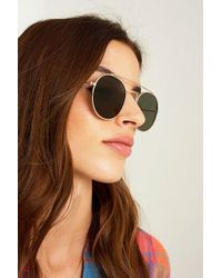 Urban Outfitters - Flat Lens Brow Bar Sunglasses - Lyst