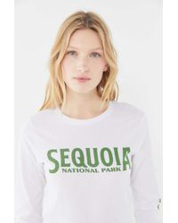 6bc5d34a6 Jurassic Park Graphic Tee. $15. Forever21. Parks Project - Sequoia National  Park Long Sleeve Tee - Lyst