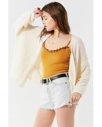 Urban Outfitters | Uo Kam Textured-knit Cardigan | Lyst