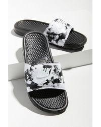 Nike - Nike Benassi Jdi Printed Slide - Lyst
