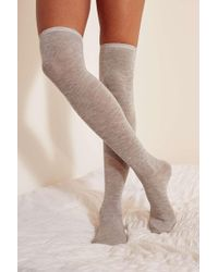 Out From Under - Lightweight Over-the-knee Sock - Womens All - Lyst