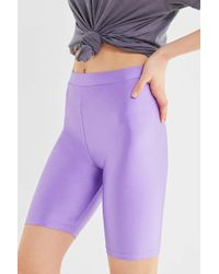 Urban Outfitters - Uo Disco High-rise Pull-on Bike Short - Lyst