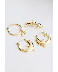 Cheap Monday - Dolphin Earrings Party Pack - Womens All - Lyst