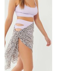 Urban Outfitters - Uo Chiffon Sarong - Lyst