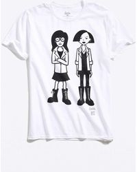 b47a798ea Urban Outfitters Daria Tee in Black for Men - Lyst