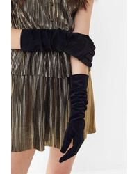 Urban Outfitters - Velvet Party Glove - Lyst
