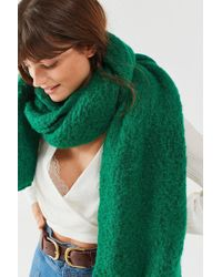 Urban Outfitters - Nubby Cozy Blanket Scarf - Lyst