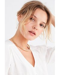 Urban Outfitters - Structured Collar Necklace - Lyst